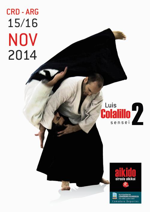 Seminario de Aikido - Luis Colalillo - CRD/ARG 2 @ Gimnasio Municipal 1  | Comodoro Rivadavia | Chubut | Argentina